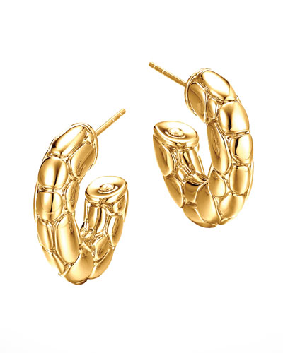 John Hardy 18k Gold Kali Small Hoop Earrings