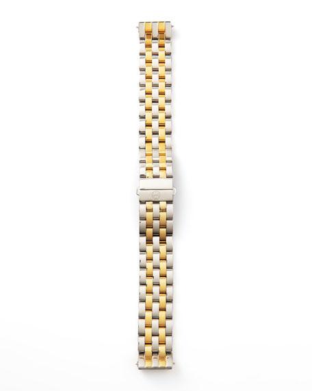 16mm Urban Mini Two-Tone Watch Bracelet, Stainless/Gold