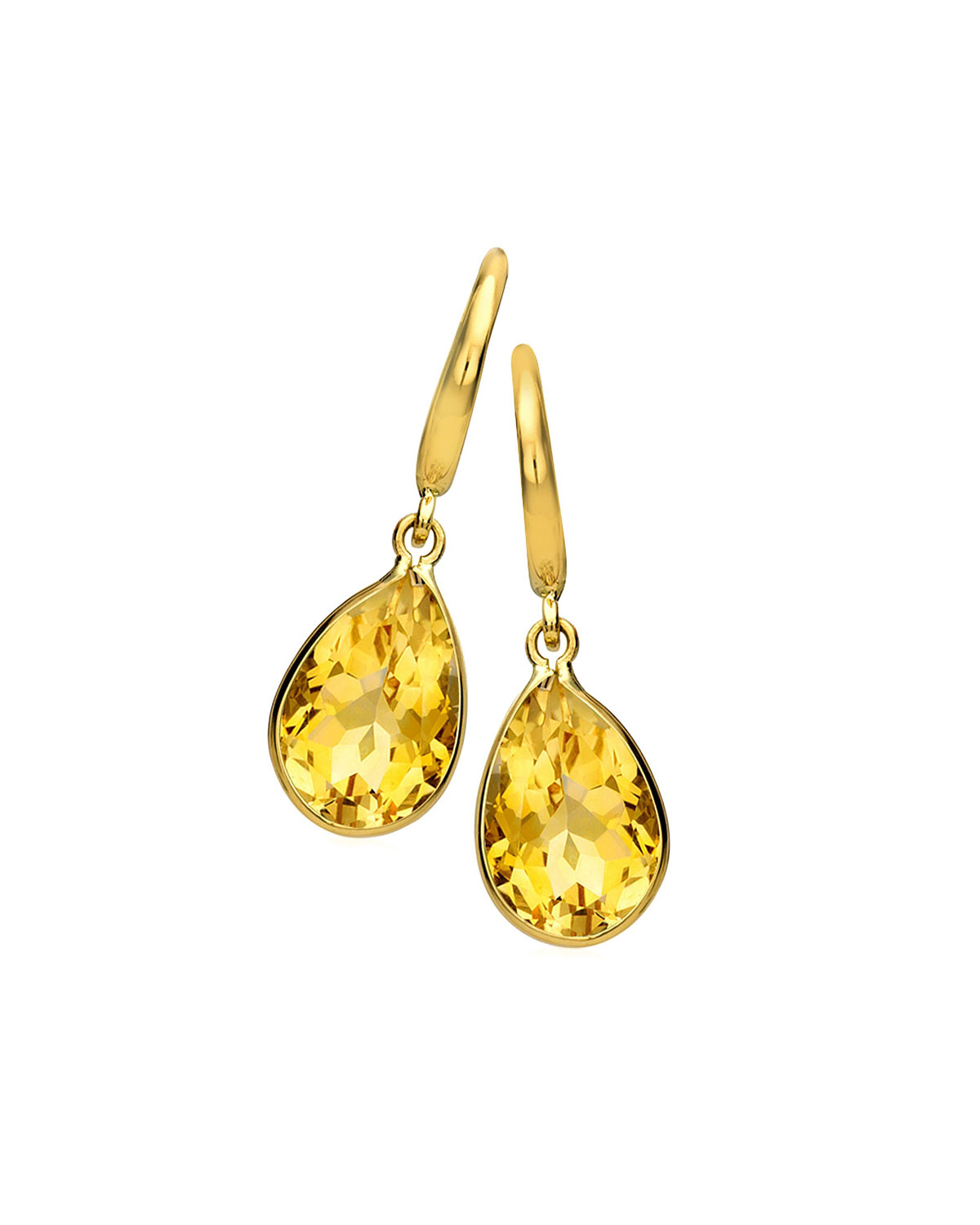 yellow raw earrings quartz natural citrine stones crystal