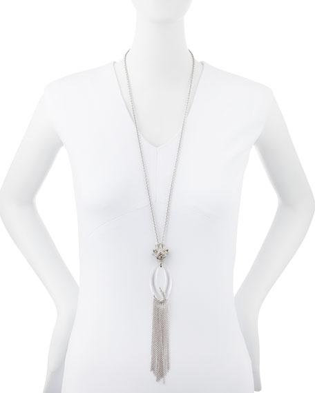 Large Wolf Pendant Necklace