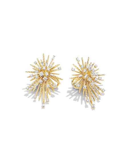 Supernova Spray Climber Earrings