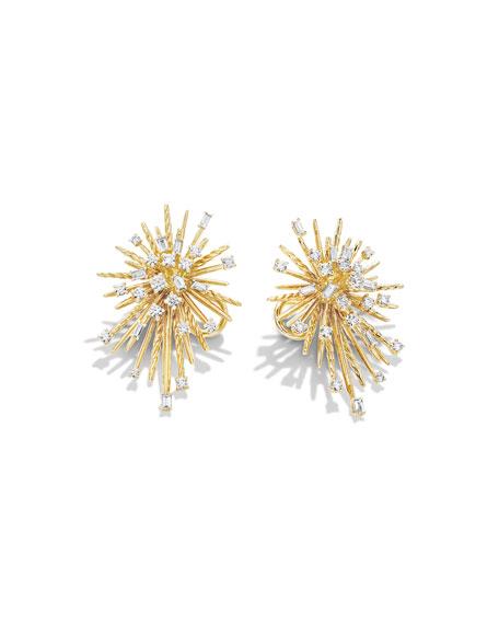 Supernova Spray Climber Earrings