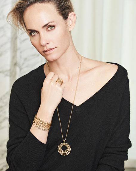Stax Chain Link Bracelet in 18k White Gold w/ Diamonds