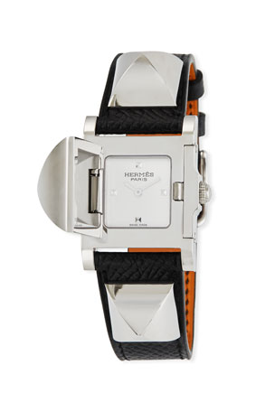 Hermès Medor Watch, 23 x 23 mm