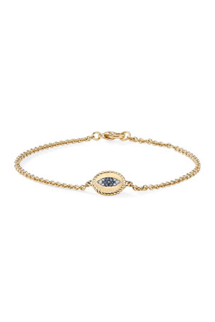 David Yurman Evil Eye Charm Bracelet
