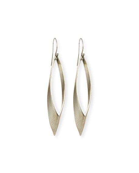 AUDEN TALON MARQUIS HOOP EARRINGS