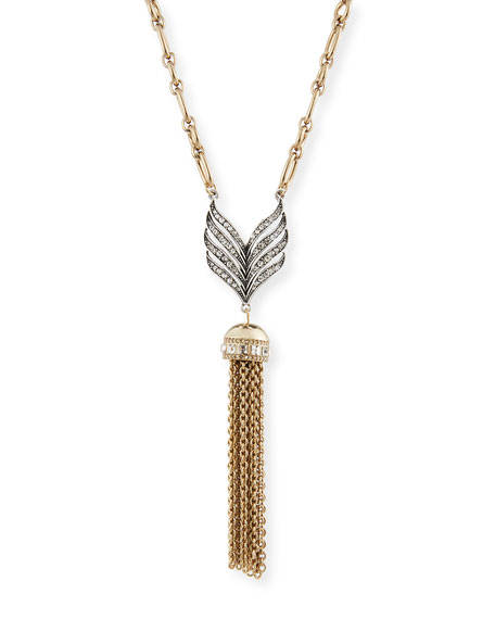 Lulu Frost Symmetry Tassel Pendant Necklace