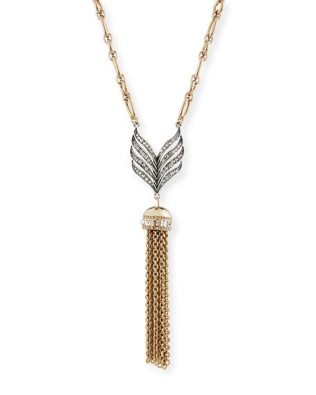 Lulu Frost Symmetry Tassel Pendant Necklace