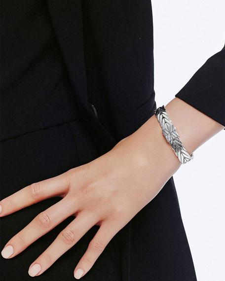John Hardy Modern Chain Medium Sterling Silver Rectangle Bracelet