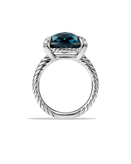 14mm Châtelaine Hampton Blue Topaz Ring