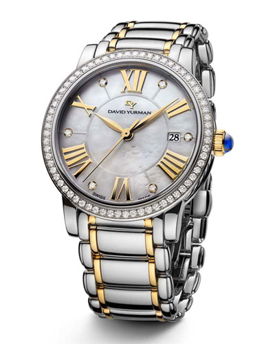 The Classic® Timepiece  Steel & 18k Gold  38mm