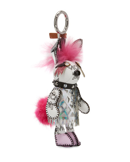Rabbit Punk Charm for Handbag