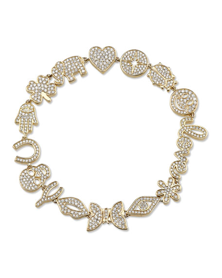 15th Anniversary Icon Bracelet with Diamonds