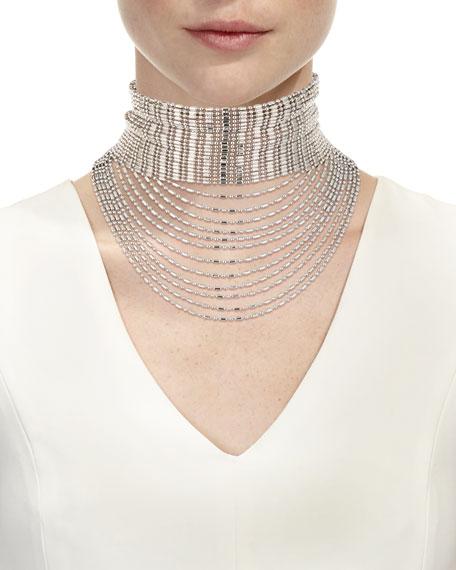 Leighton Layered Chain Collar Necklace
