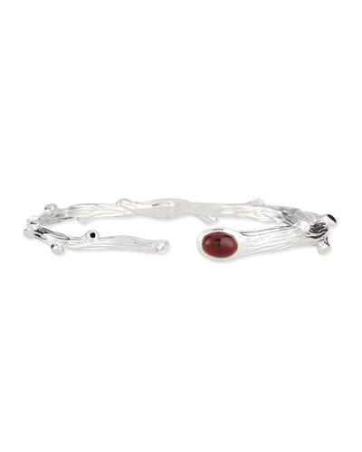 Twig Garnet & Diamond Bracelet