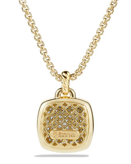 David Yurman 18k Albion® Diamond Pavé Pendant