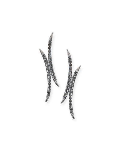 Reckless Mirage Black Diamond Earrings