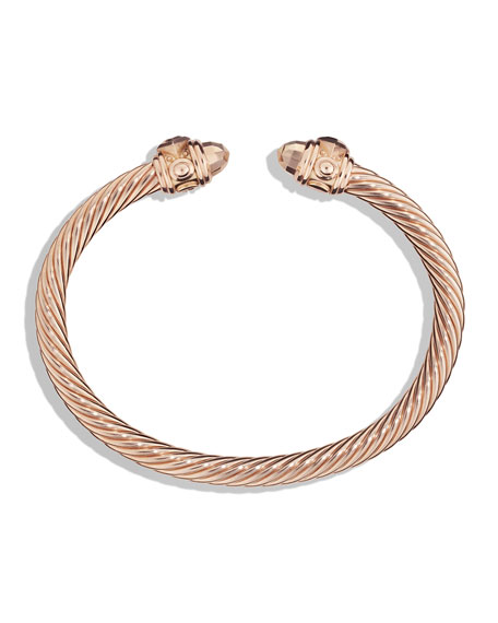 David Yurman Renaissance Bracelet in 18k Rose Gold