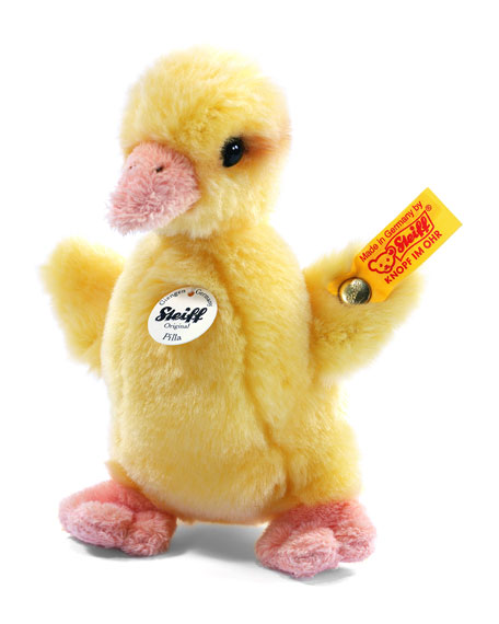 Steiff Pilla Duckling Stuffed Animal