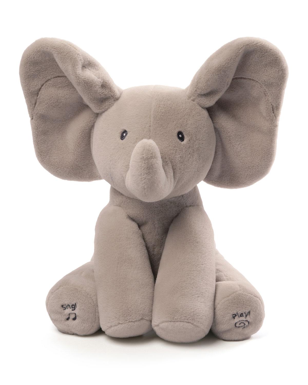 Gund Flappy The Elephant Animated Plush Gray Neiman Marcus