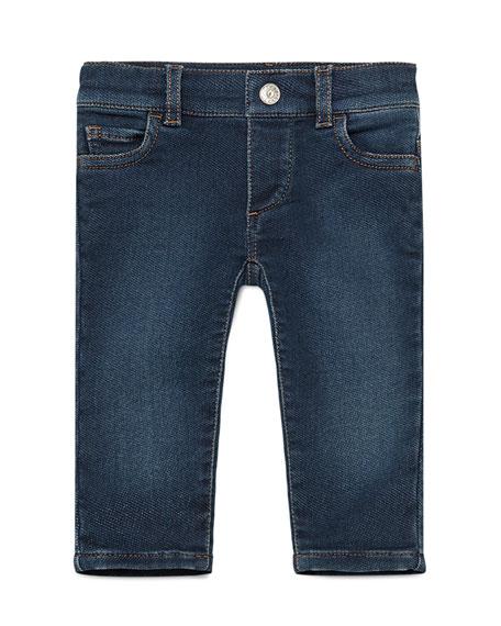 Gucci Denim Legging Jeans, Indigo, Size 6-36 Months