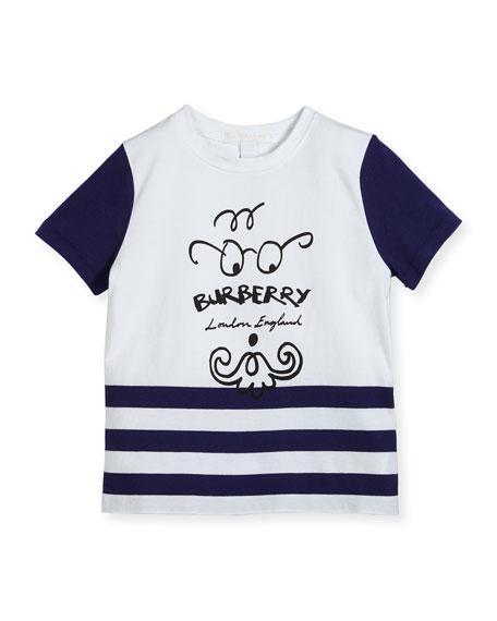 Burberry Boys' Finn Logo T-Shirt, Size 4-14
