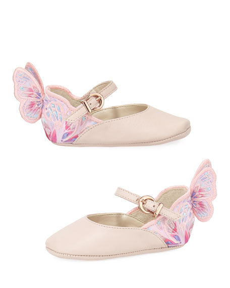 Sophia Webster Chiara Butterfly Mini Ballet Flat, Infant Sizes 0-12 Months