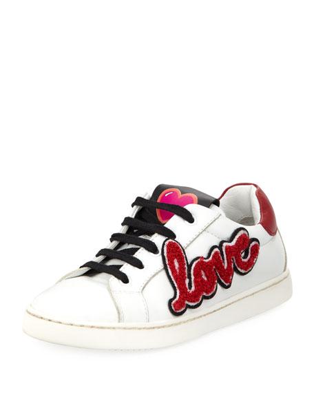 Dolce & Gabbana Heart Love Sneakers, Toddler