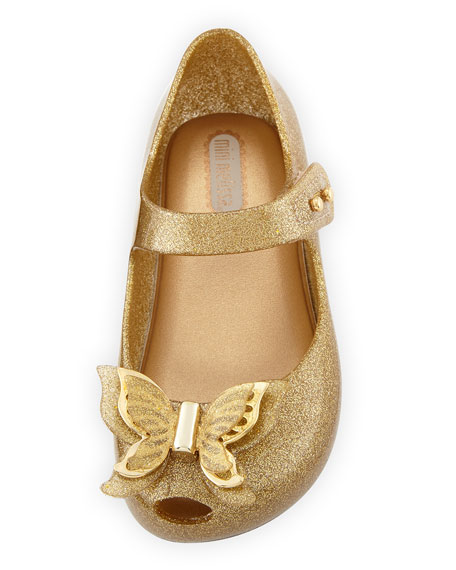 Butterfly Mary Jane Flat, Toddler Sizes 5-10