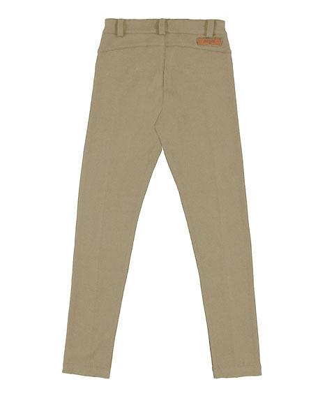 Knit Zip-Pocket Leggings, Size 8-16