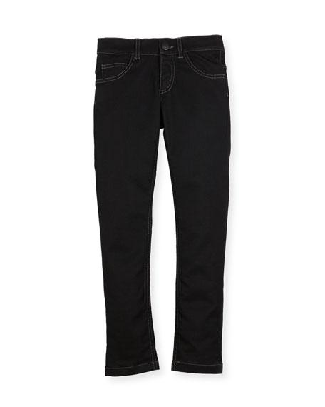 Boys' Denim Pants with Light Bulb Detail, Size 3-5