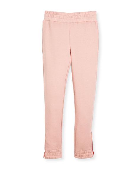 Stella McCartney Melba Jersey Knit Pant w/ Zipper
