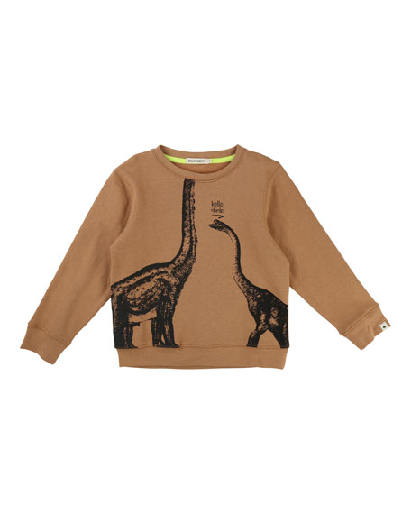 Billybandit Hey Dude Dino Sweatshirt, Size 4-8