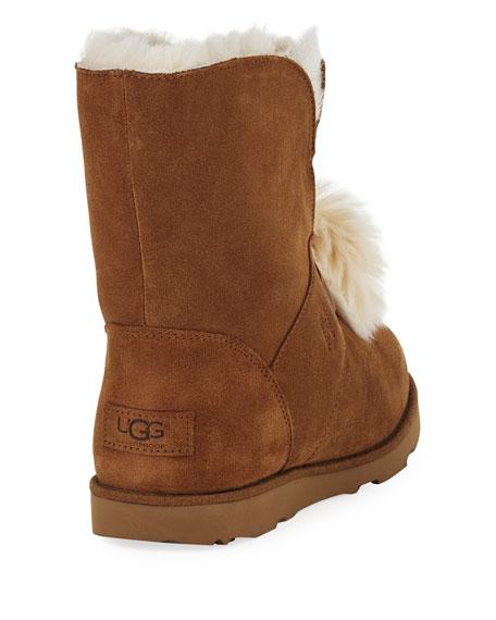 Isley Waterproof Pompom Boot, Kid Sizes 13T-6Y