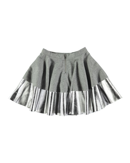 Bonita Metallic Skirt, Size 3T-14
