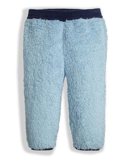 Plushee Fleece Pants, Sky, Size 3-24 Months