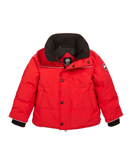 Kids' Snow Owl Parka w/ Removable Fur Trim, Size 2T-7