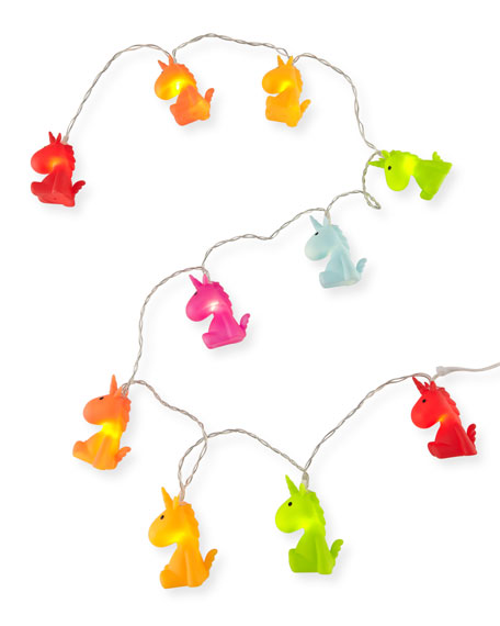 Iscream Unicorn String Lights, Multi