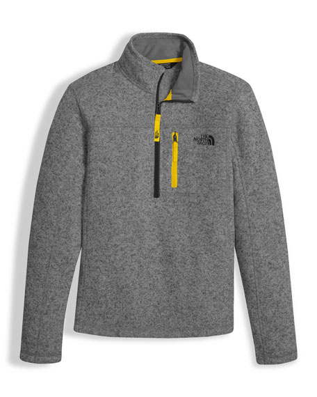 The North Face Gordon Lyons Half-Zip Pullover, Size