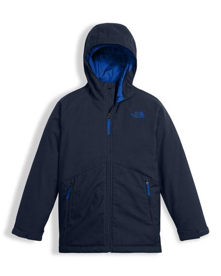 Apex Elevation Colorblock Jacket, Blue, Size XXS-XL