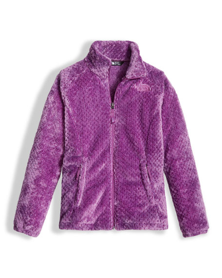 The North Face Osolita Fleece Jacket, Purple, Size