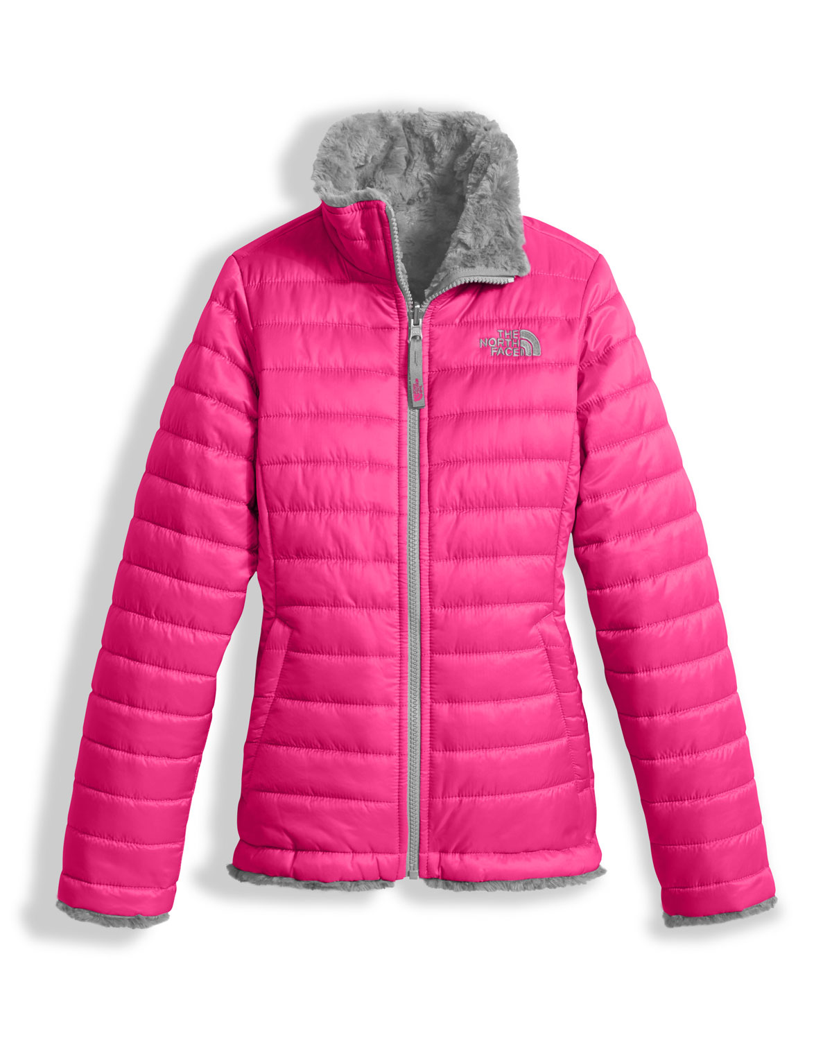 c9dd49212fc1 The North Face Girls  Reversible Mossbud Swirl Jacket