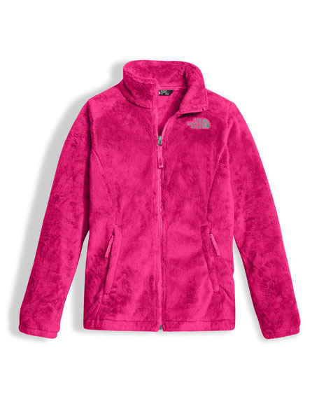 The North Face Osolita Fleece Jacket, Pink, Size