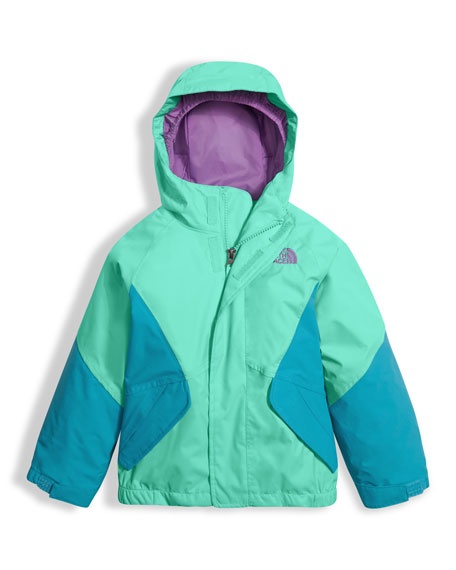 The North Face Girls' Kira Triclimate Waterproof Jacket,