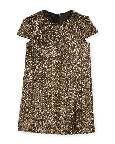 Chloe Sequin Dress, Size 4-7