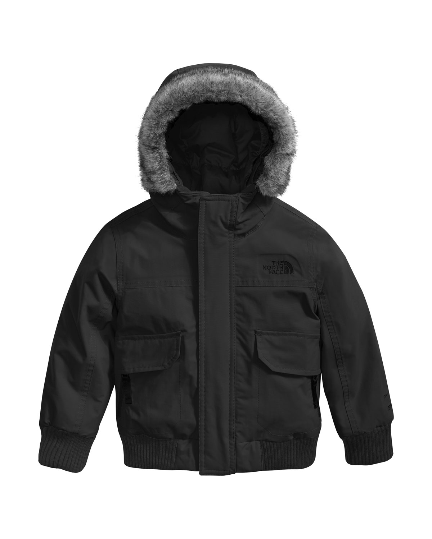 The North Face Gotham Down Hooded Jacket w  Faux-Fur Trim 147e79ac9
