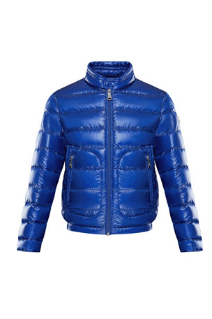 Moncler Acorus Lightweight Down Jacket, Size 4-6