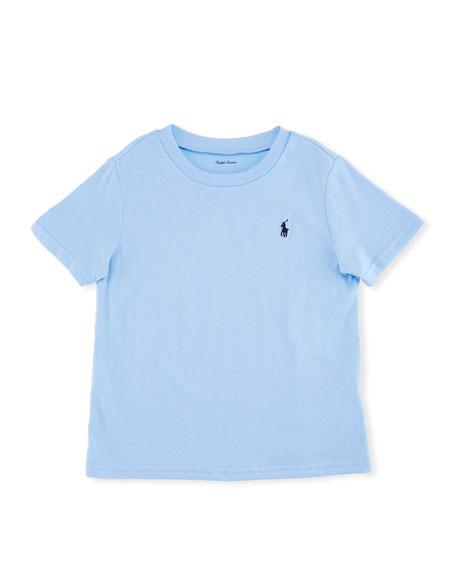 Ralph Lauren Childrenswear Short-Sleeve Jersey T-Shirt, Blue,