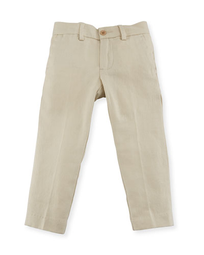 Twill Skinny-Fit Pants, Size 2-4