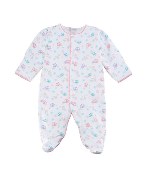 What A Hootie Pima Footie Playsuit, Size 0-9 Months
